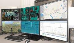 Рабочее место инструктора комплексного пилотажного тренажера вертолета Ми-171