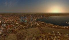 Sunrise in the Bay of Baku