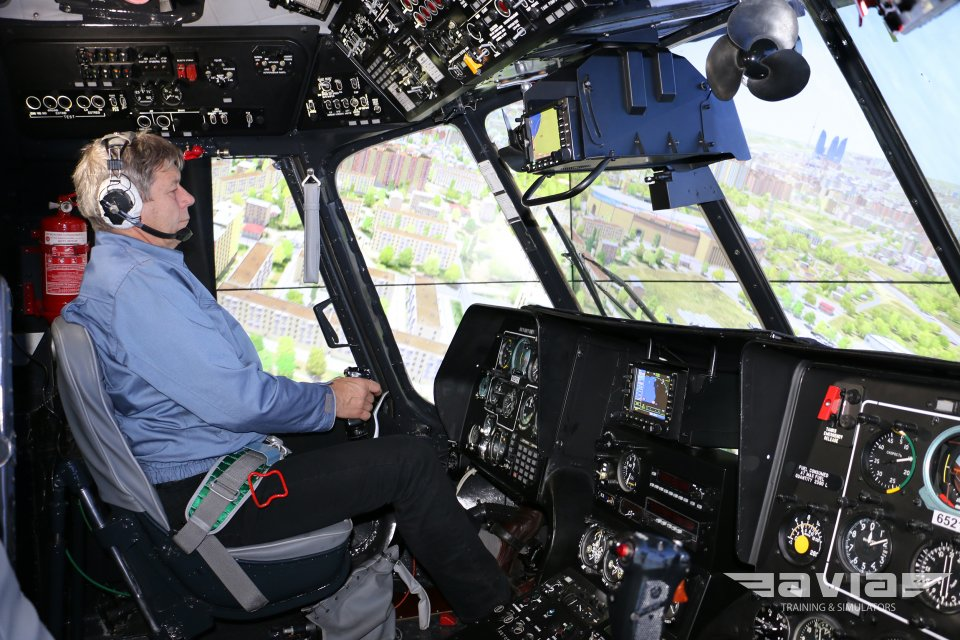 Helicopter Flight Training Device